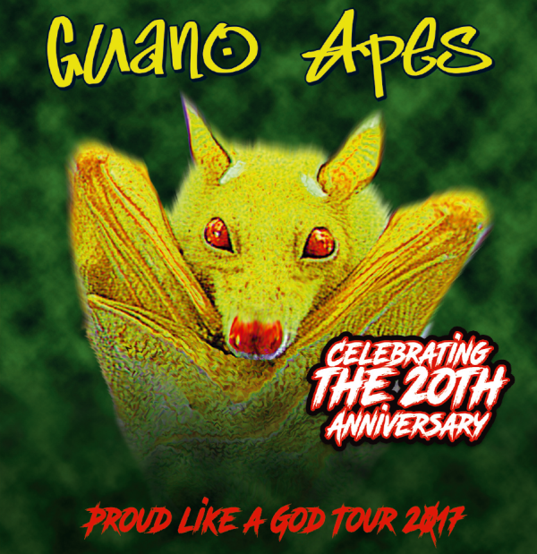 Pragokoncert Presents Guano Apes De Proud Like A God